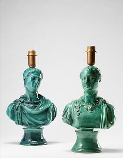 Piero Fornasetti (1913-1988)  - Pair of table lamps, 1960 ca.