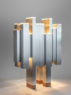 Gaetano Sciolari, Attribution (Italian, b. 1927) Sculptural Floor Lamp