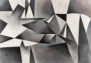 Thomas Kapsalis (American, b. 1925) Black, White + Gray, 1959