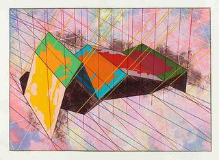 Ronald Davis (American, b. 1937) Wide Wave, 1979