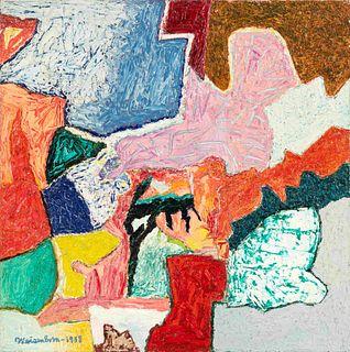 Rudolph Weisenborn (American, 1871-1974) Untitled, 1958