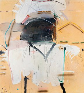 James Havard (American, b. 1937) White Bird Shirt Spread, 1980