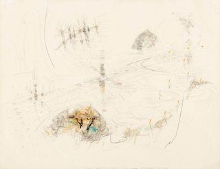 Roberto Matta (Chilean, 1911-2002) Accelerated Behavior, 1950
