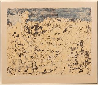 Jean Dubuffet (French, 1901-1985) Solitudes, 1953