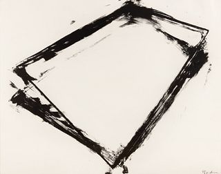 Richard Serra (American, b. 1939) Balance, 1972