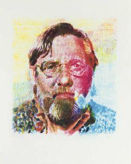 Chuck Close (American, b. 1940) John II, 1991