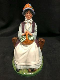 "VINTAGE ROYAL DOULTON ENGLAND PORCELAIN FIGURINE "" REST A WHILE"" HN 2728"