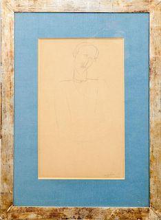 After Amedeo Modigliani (1884-1920): Portrait of a Man