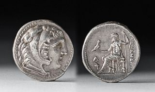 Macedonian Alexander III AR Tetradrachm - 17.2 g