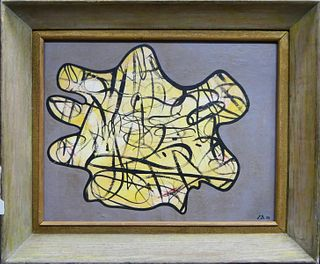 ATTRIIBUTED TO JEAN DUBUFFET FRENCH (1901- 1985)