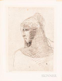 Odilon Redon (French, 1840-1916)      Plate I