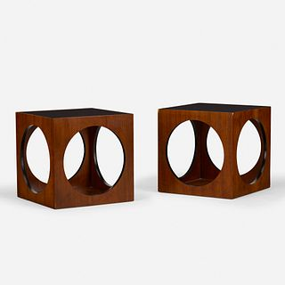 Lane Furniture, occasional tables, pair