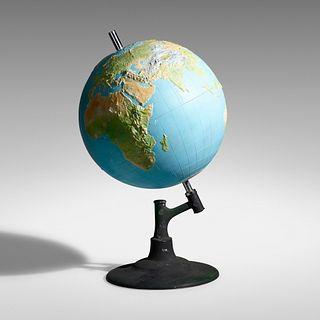 Monumental tactile globe