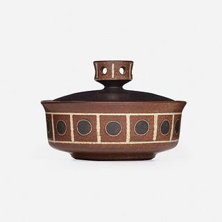 Harrison McIntosh, lidded vessel