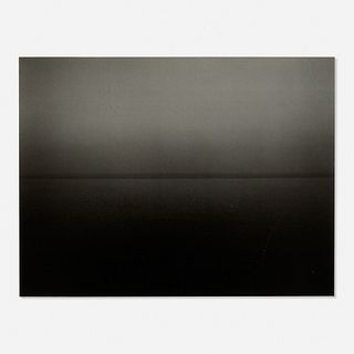Hiroshi Sugimoto, Miltoan Sea, Sounion 1990 #354 from the Time Exposed portfolio