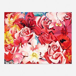 Lowell Nesbitt, Multi-Flower Painting
