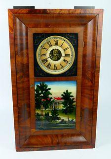ANTIQUE JEROME & CO. 30 HOUR OGEE OG CLOCK