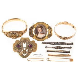 Collection of Victorian to Art Deco Jewelry