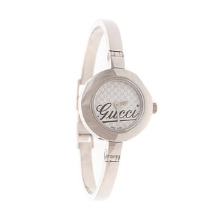 Gucci Lady's Bangle Watch with Box & Papers