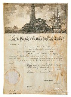 Thomas Jefferson and James Madison signed passage