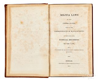Militia Laws of United States and Massachusetts