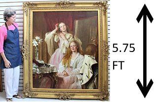 Henry Tanworth Wells (1828-1903) Oil on Canvas