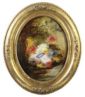 Attrib Narcisse-Virgil Diaz (1808-1876) French O/C