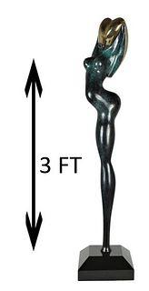 Paul Braslow (20/21st C, American) Nude Sculpture