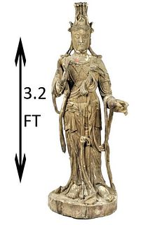 Imperial Carved Guanyin Bhodisattva