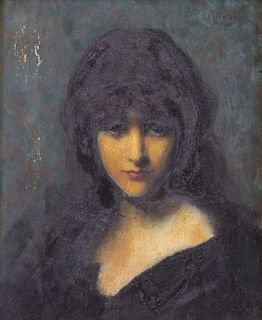 JEAN-JACQUES HENNER (FRENCH, 1829-1905).