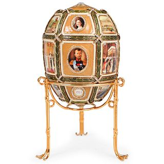 Faberge Imperial 15th Anniversary Egg