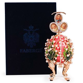 Lilies Of The Valley Faberge Egg