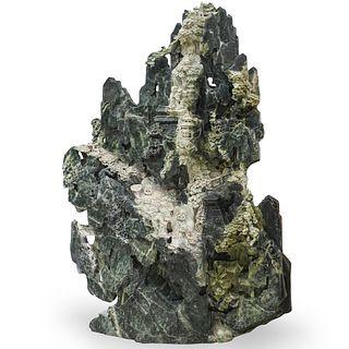 Palaze Sized Carved Jade Boulder