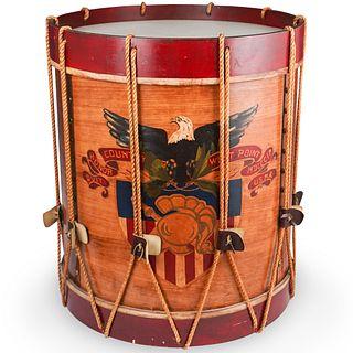 American Revolutionary War Drum Table