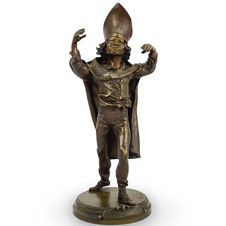 After Alfred Barye (French, 1839-1882) Figural Bronze Statue