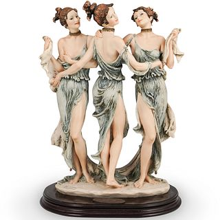"""Giuseppe Armani """"The Three Graces"""" Figural Group"""