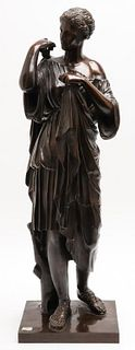 After Barbedienne Grand Tour Bronze Sculpture