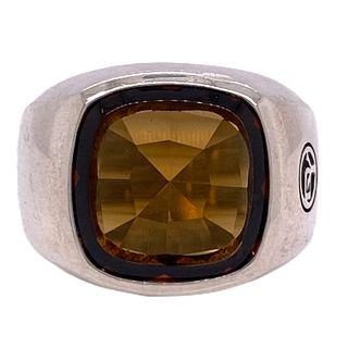 David Yurman Quartz Signet Men's Ring