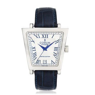 Corum Trapeze Limited Edition in Steel