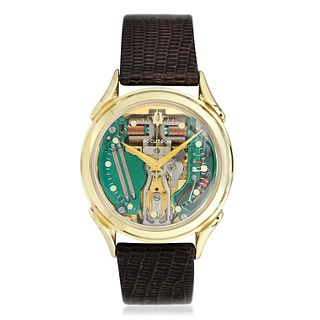 Bulova Accutron Spaceview in 14K Gold