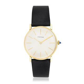 Cartier Watch in 18K Gold