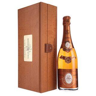 Cristal Rosé Champagne. Vintage 1990. Louis Roederer. Brut. Reims. France.