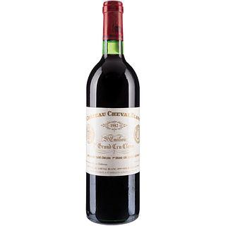 Château Cheval Blanc. Cosecha 1982. St. Émilion. 1er. Grand Cru Classé. Nivel: llenado alto.