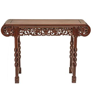 Antique Chinese carved Hardwood Alter Table