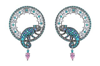 Queensbee Collection Chameleon Earrings