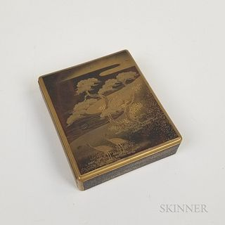 Small Japanese Lacquered Box