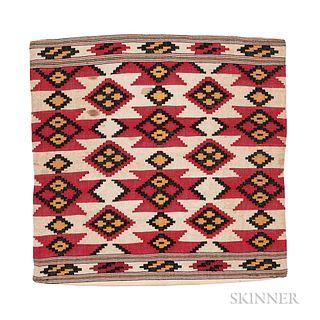 Silk Shahsavan Kilim Bagface
