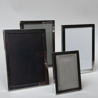 Group of Four Cartier Silver Frames