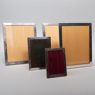 Five American Silver Frames