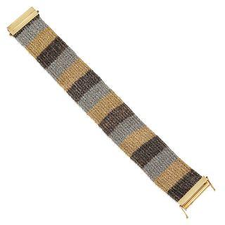 Tri-Color Mesh Bracelet